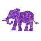 Elephant Mandala by inkedinred