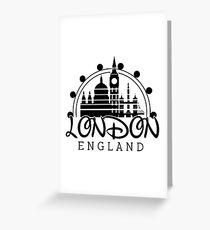 London England Greeting Card