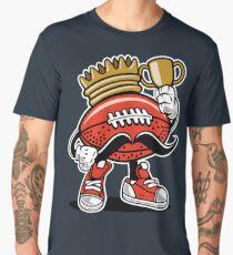 Anthropomorphic American Football Royalty Men's Premium T-Shirt
