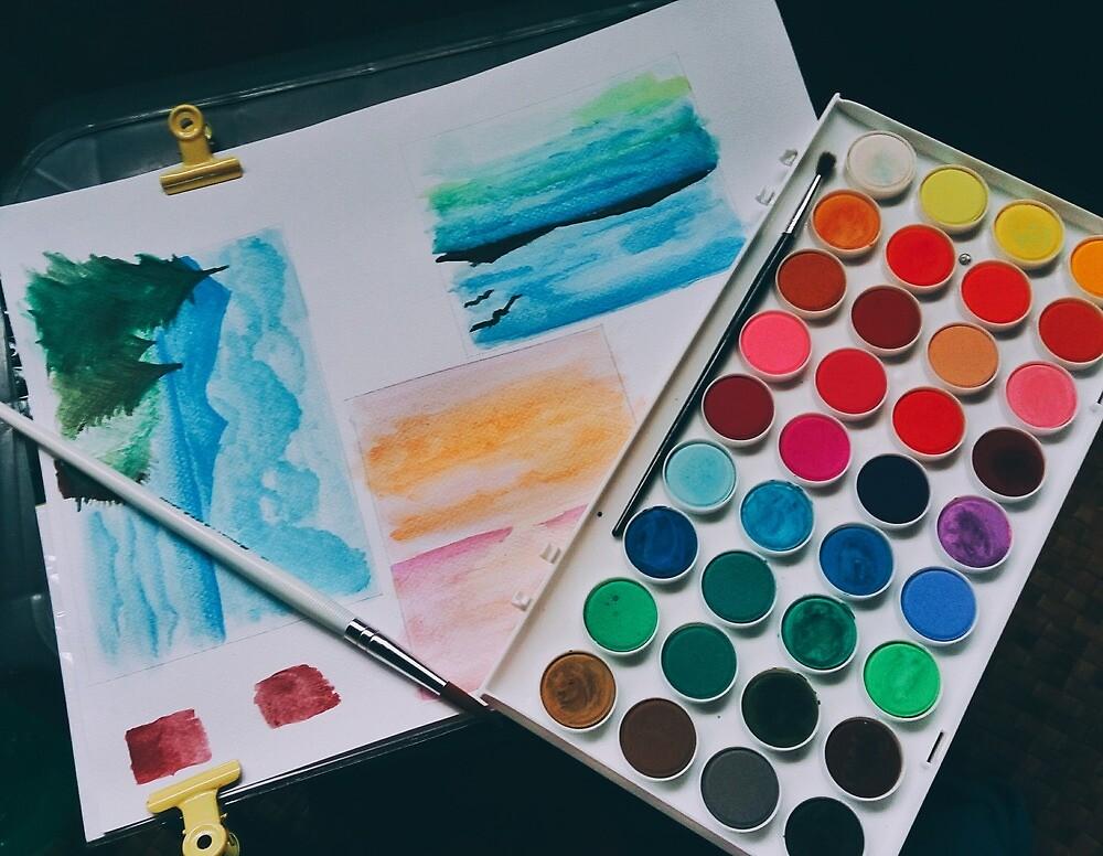 Watercolor Theme By Zeelie Redbubble