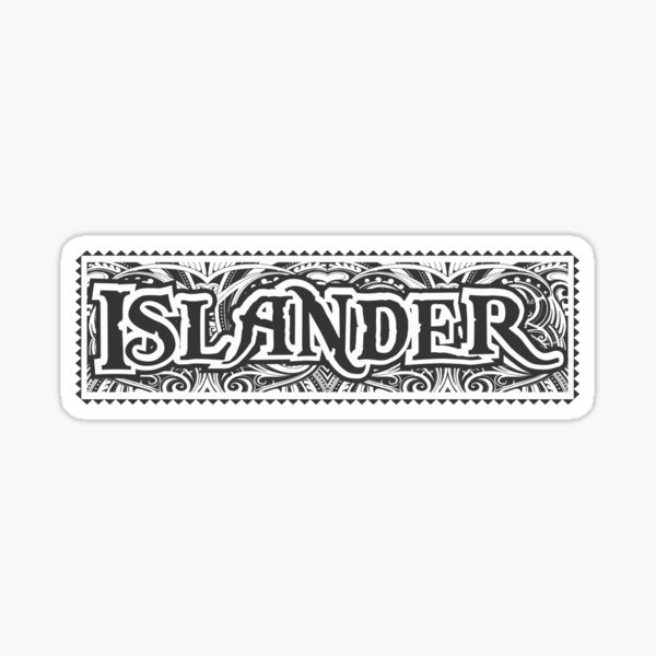 Islander Logo Sticker