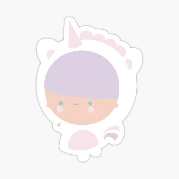 Kawaii Pastel Unicorn  Sticker