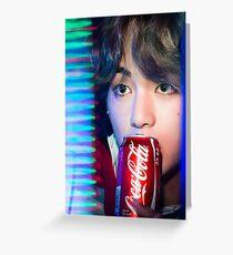 Taehyung Greeting Card
