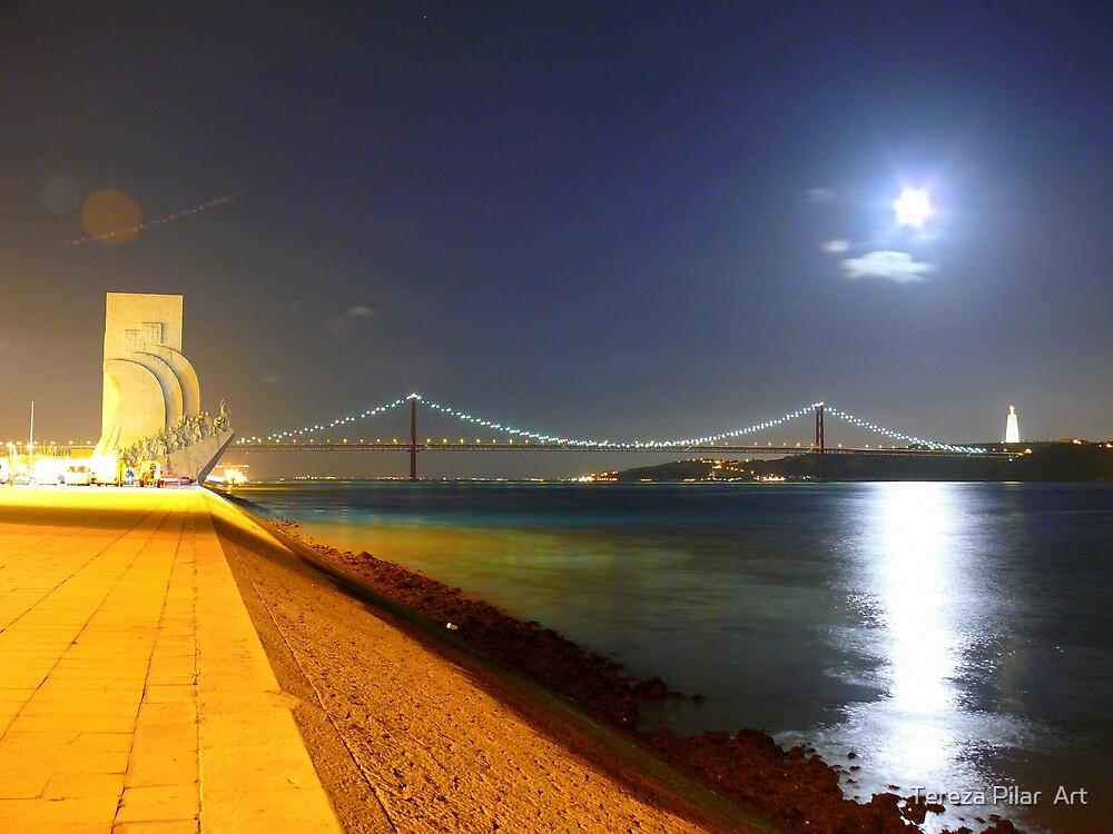Summer night. Lisbon by terezadelpilar ~ art & architecture