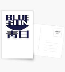 Blue Sun (original) Postcards