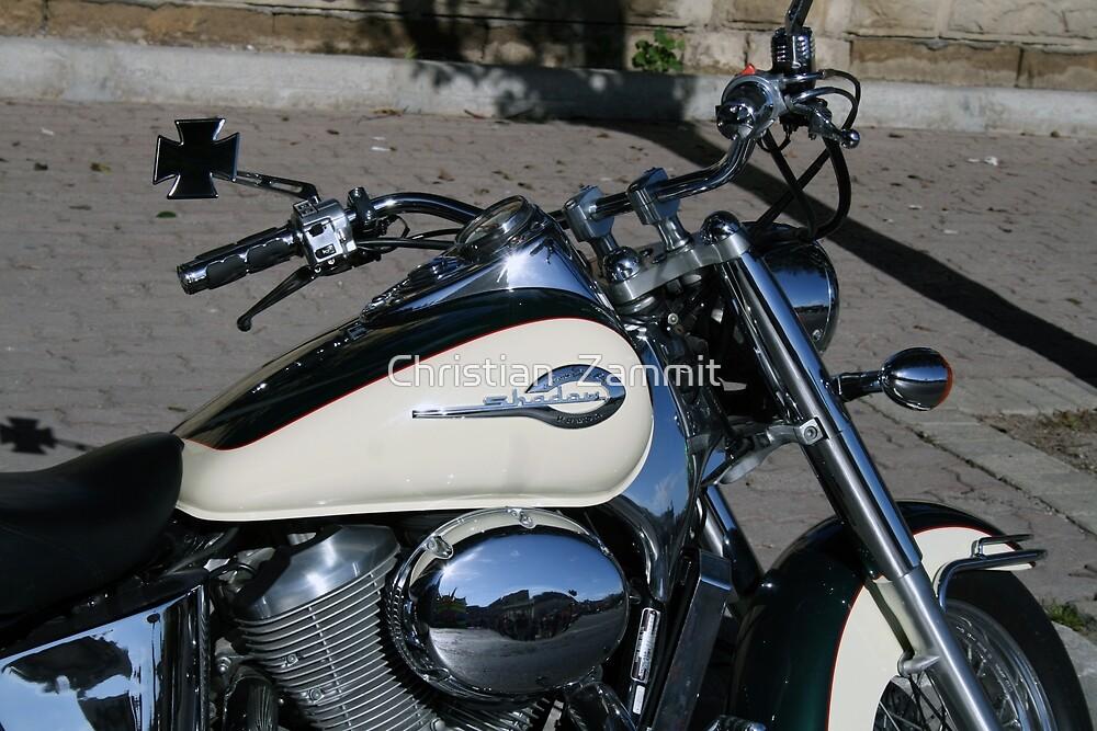 The motorbike by Christian  Zammit