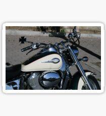 The motorbike Sticker