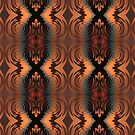 Fall is Here Vertical Pattern by Lyle Hatch
