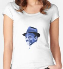Frank Sinatra - Ol' Blue Eyes Women's Fitted Scoop T-Shirt
