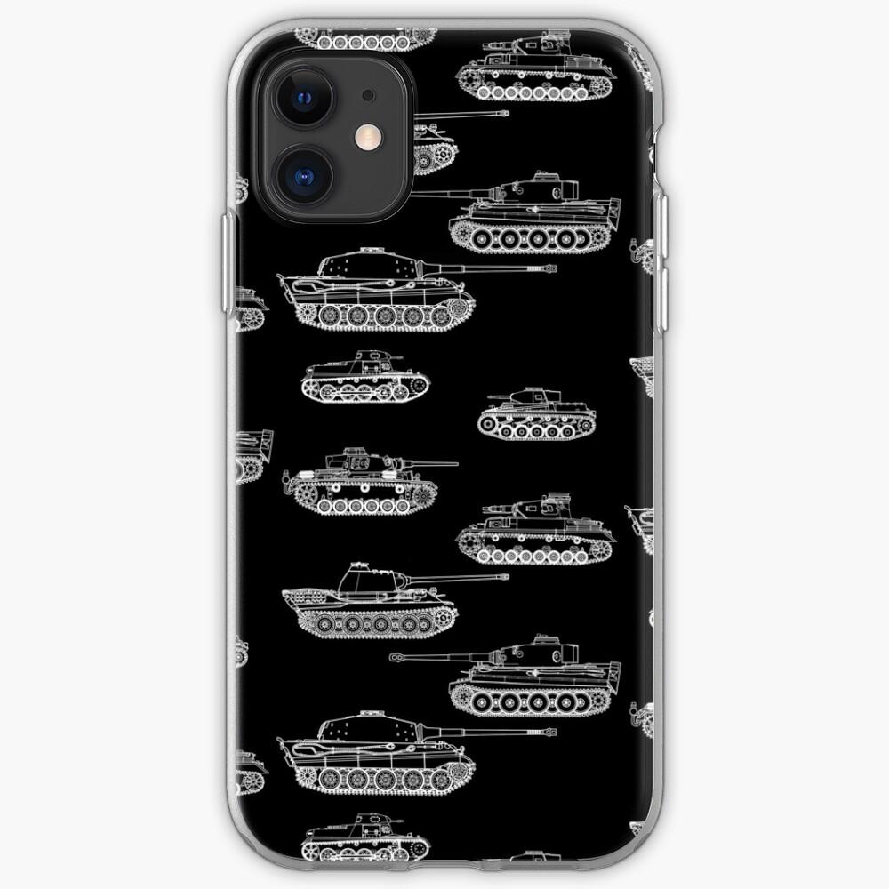 Panzers allemands de la Seconde Guerre mondiale   Coque iPhone