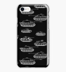 German Panzers of WWII iPhone Case/Skin