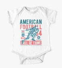 American Football Retro Vintage Kids Clothes