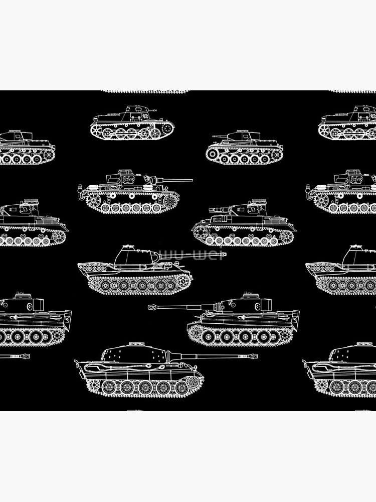 German Panzers of WWII by wu-wei