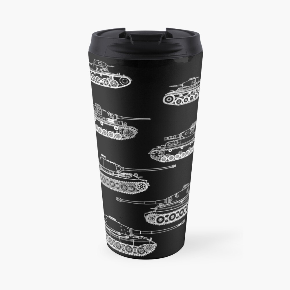 German Panzers of WWII Travel Mug