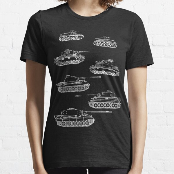 German Panzers of WWII Essential T-Shirt