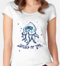 Blooper - Inking of you  Women's Fitted Scoop T-Shirt
