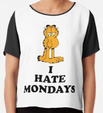 I hate Mondays Chiffon Top