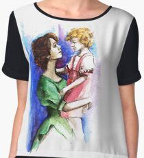 Mother & child Women's Chiffon Top