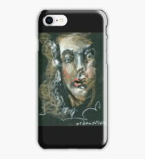 the  character  in the opera baroque iPhone Case/Skin