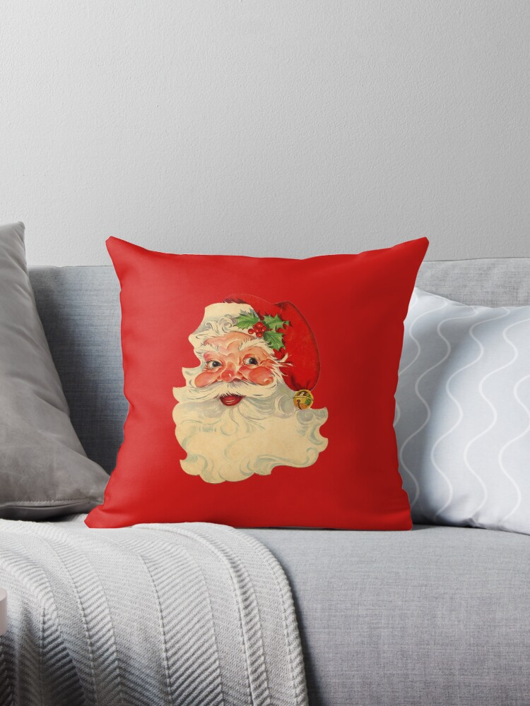 Santa Claus, Vintage Drawing by longdistgramma