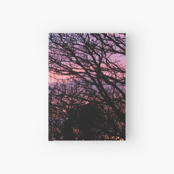 Pink Sky at Night Hardcover Journal