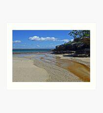 Currarong beach, NSW Art Print