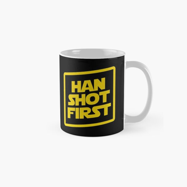 Han Shot First Classic Mug