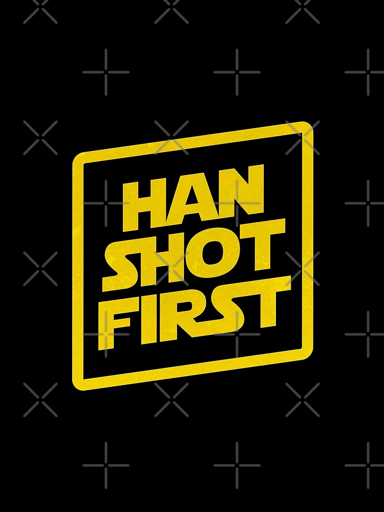 Han Shot First by meandthemoon