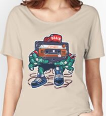 Zombie Cassette Tape Women's Relaxed Fit T-Shirt
