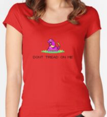 Dont Tread on Ekans Women's Fitted Scoop T-Shirt