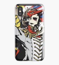 Goro Akechi All Out Attack iPhone Case/Skin