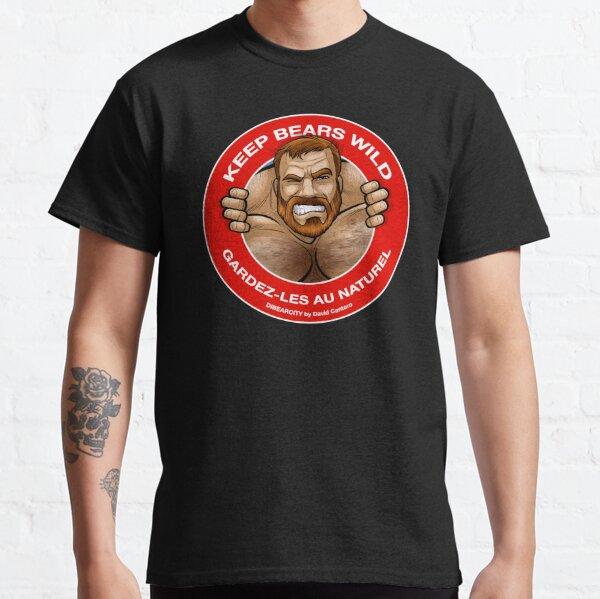KEEP BEARS WILD -COLOR Camiseta clásica