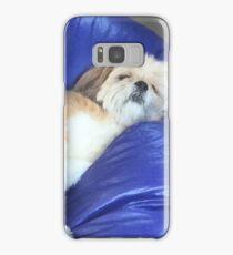 Elvis the Dog - Asleep at Work Samsung Galaxy Case/Skin
