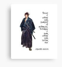 Miyamoto Musashi Excerpt Metal Print