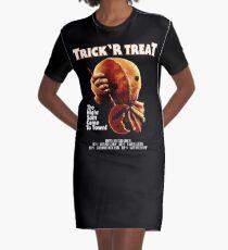 Trick 'r Treat Halloween Mashup T-Shirt Graphic T-Shirt Dress
