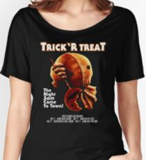 Trick 'r Treat Halloween Mashup T-Shirt Women's Relaxed Fit T-Shirt
