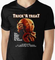 Trick 'r Treat Halloween Mashup T-Shirt Men's V-Neck T-Shirt