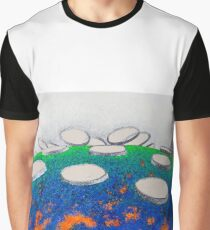 """""""CA Academy of Sciences Living Roof - Horizontal"""" Graphic T-Shirt"""