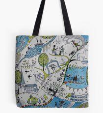 Life around Horsham Tote Bag