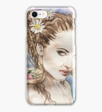 Watercolor Hand Drawn LIBRA Sign iPhone Case/Skin