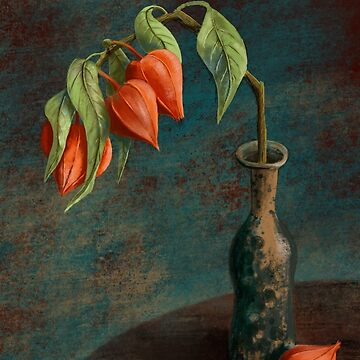 Stillife with Physalis by Olooriel