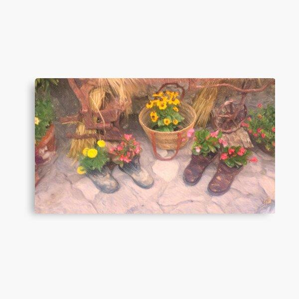 New italian garden italian design Canvas Print
