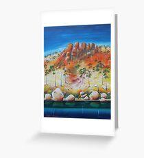 Escarpment Greeting Card