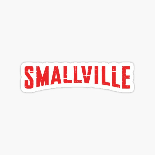 Smallville Pegatina