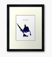 Arthas - The lich King Framed Print
