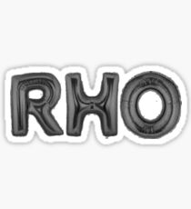 rho black Sticker