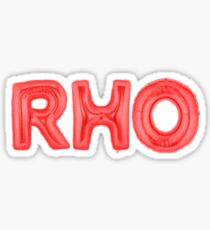 rho red Sticker