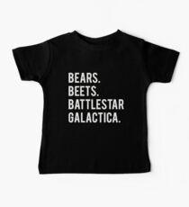 Bears Beets Battlestar Galactica! Baby Tee