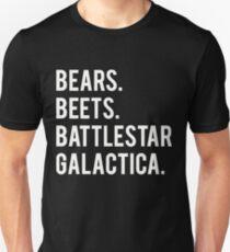 Bears Beets Battlestar Galactica! Unisex T-Shirt