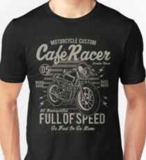 Cafe Racer Motorcycle Retro Vintage Unisex T-Shirt